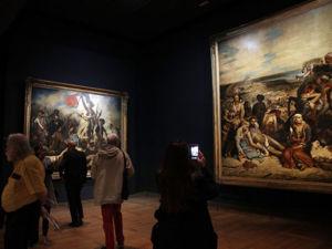 В Лувре отмечают 220-летие со дня рождения великого французского художника Эжена Делакруа. Ярмарка Мастеров - ручная работа, handmade.