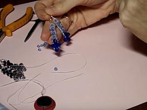 Видео мастер-класс по изготовлению сережек. Ярмарка Мастеров - ручная работа, handmade.