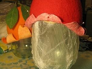 """Болванка для шапочек """"Слепила из того,что было..."""". Ярмарка Мастеров - ручная работа, handmade."""