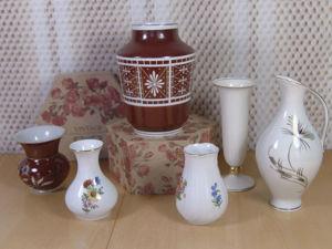 Набор ваз и  вазочек для цветов из  Германии. Ярмарка Мастеров - ручная работа, handmade.