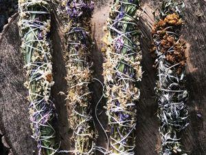 Травы в окуривании. Их сила и магия. Ярмарка Мастеров - ручная работа, handmade.