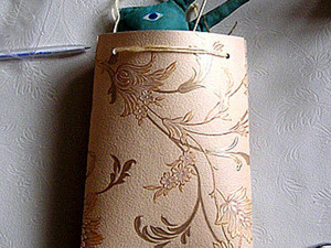 Делаем объемную сумку из обоев. Ярмарка Мастеров - ручная работа, handmade.