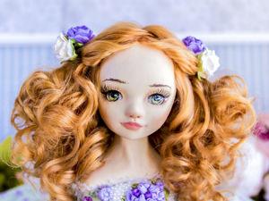 Принцесса Моника авторская кукла, интерьерная  кукла подарок любимой. Ярмарка Мастеров - ручная работа, handmade.