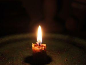 Пока горит свеча. Ярмарка Мастеров - ручная работа, handmade.