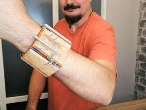 Делаем магнитный браслет для гвоздей. Со вставками оргстекла и декоративной подсветкой. Ярмарка Мастеров - ручная работа, handmade.