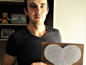 Создаем сердце в технике String Art. Ярмарка Мастеров - ручная работа, handmade.
