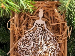 «В этот Новый год наша ёлка должна быть оригинальнее и красивее, чем у Любки из соседнего дома!». Ярмарка Мастеров - ручная работа, handmade.