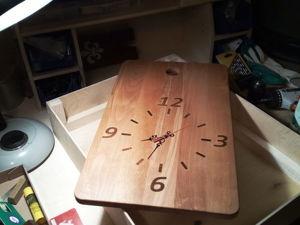 Мастерим часы из разделочной доски. Ярмарка Мастеров - ручная работа, handmade.