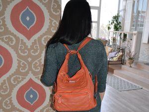 Что удобнее сумка или рюкзак?. Ярмарка Мастеров - ручная работа, handmade.
