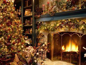 С Рождеством, дорогие друзья!. Ярмарка Мастеров - ручная работа, handmade.