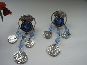 Аукцион — винтажные итальянские серьги,ювелирная бижутерия. Ярмарка Мастеров - ручная работа, handmade.