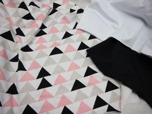 Футер треугольники в наличии. Ярмарка Мастеров - ручная работа, handmade.