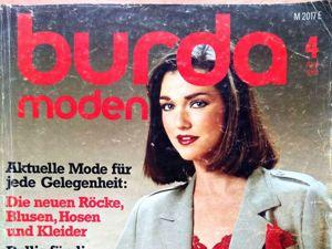 Burda moden № 4/1981. Фото моделей. Ярмарка Мастеров - ручная работа, handmade.