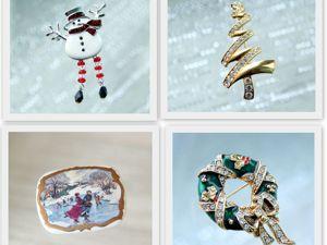 Коллекция новогодних украшений. Ярмарка Мастеров - ручная работа, handmade.