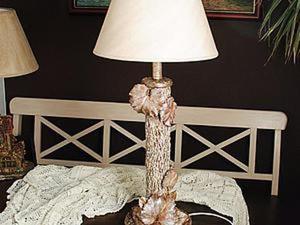 """Создание Лампы """"Осенний вальс"""". Ярмарка Мастеров - ручная работа, handmade."""