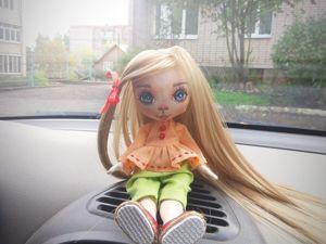 Текстильная кукла, фотосессия. Ярмарка Мастеров - ручная работа, handmade.