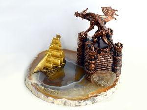 Исключительно любителям фэнтези новая интерьерная композиция по сериалу  «Игра престолов». Ярмарка Мастеров - ручная работа, handmade.