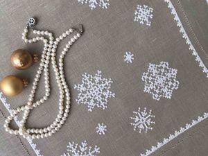 Снег кружится, летает, летает. Ярмарка Мастеров - ручная работа, handmade.