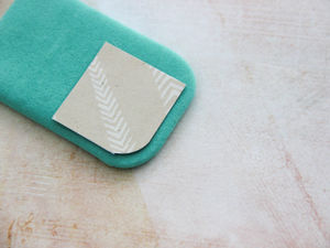 How to Sew Round Corners on Cover. Livemaster - handmade