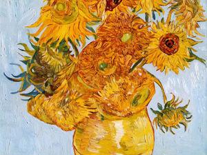Подсолнухи, Ван Гог, авторская копия, 2013 г. Ярмарка Мастеров - ручная работа, handmade.