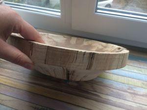 Тарелка из дерева. Ярмарка Мастеров - ручная работа, handmade.