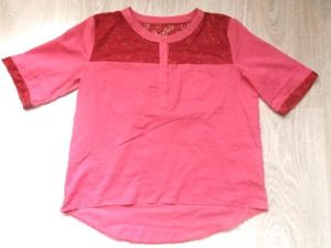 How to Decorate an Old Shirt with Lace. Livemaster - handmade