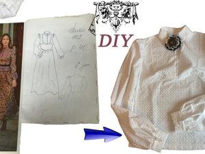 Шьём блузку из батиста. Часть 2. Пошив. Ярмарка Мастеров - ручная работа, handmade.