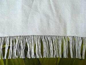 How to Quickly Fray Fringe of a Towel. Livemaster - handmade