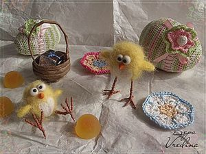 Цыплята примтивчики.. Ярмарка Мастеров - ручная работа, handmade.