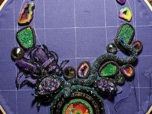 Каменный цветок, завершение. Ярмарка Мастеров - ручная работа, handmade.