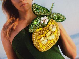 Видео броши лимончика. Ярмарка Мастеров - ручная работа, handmade.