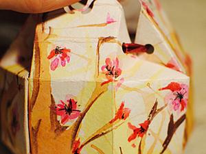Расписываем бумагу для поделок за 15 минут. Ярмарка Мастеров - ручная работа, handmade.