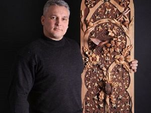 Living Wood: This Artist Has Invented His Own Carving Technique And Creates Mosaics That Have No Analogues In The World. Livemaster - handmade