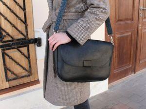 Видео-обзор повседневной женской сумки с подкладом. Ярмарка Мастеров - ручная работа, handmade.