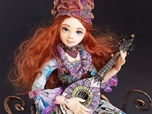 Видеообзор на Куклу  «Муза». Ярмарка Мастеров - ручная работа, handmade.