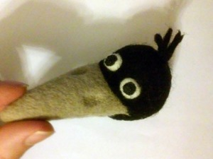 Валяем ворону из мультфильма «Возвращение блудного попугая». Часть вторая. Ярмарка Мастеров - ручная работа, handmade.