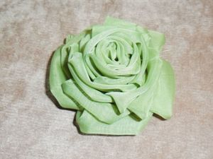DIY Fabric Rose. Livemaster - handmade