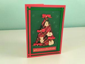 Мастер-класс  «Новогодняя открытка». Ярмарка Мастеров - ручная работа, handmade.