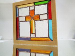 Создаем витраж в технике Тиффани. Ярмарка Мастеров - ручная работа, handmade.