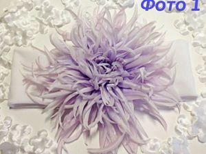 Составление выкройки к цветку «Астра» из шёлка. Ярмарка Мастеров - ручная работа, handmade.
