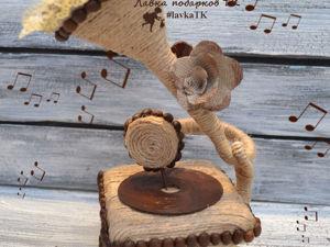 Создаем граммофон из джута. Ярмарка Мастеров - ручная работа, handmade.
