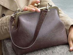 Акция на сумочку с фермуаром. Ярмарка Мастеров - ручная работа, handmade.