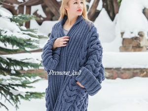 Акция! Кардиган-пальто от 9 тыс руб. Ярмарка Мастеров - ручная работа, handmade.