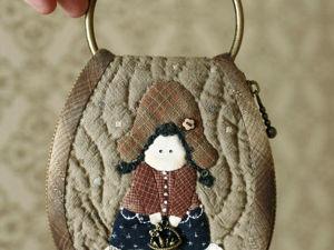 Шьём японскую ключницу с аппликацией. Часть 1. Ярмарка Мастеров - ручная работа, handmade.