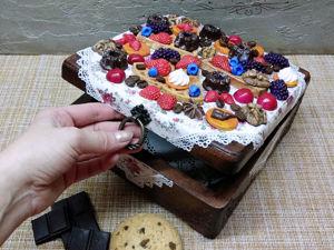 Шкатулка для чая и сладостей  «Сладкий десерт». Ярмарка Мастеров - ручная работа, handmade.