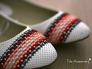 Стежок за стежком: обновляем балетки при помощи вышивки. Ярмарка Мастеров - ручная работа, handmade.