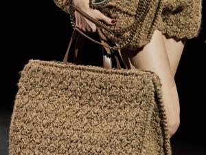 Вязаные сумки модный тренд осень-зима 2020-2021. Ярмарка Мастеров - ручная работа, handmade.