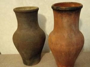 Декупаж старых глиняных кувшинов. Ярмарка Мастеров - ручная работа, handmade.
