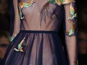 Аппликация на платье — красивый способ показать миру свою истинную суть. Ярмарка Мастеров - ручная работа, handmade.