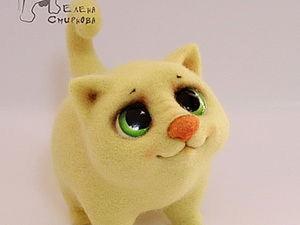 How to Simply Dry Felt a Cutie Kitten. Livemaster - handmade